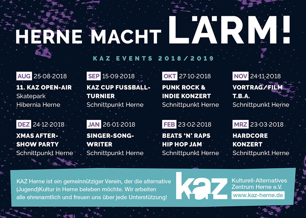 Herne macht Lärm! 2018/2019